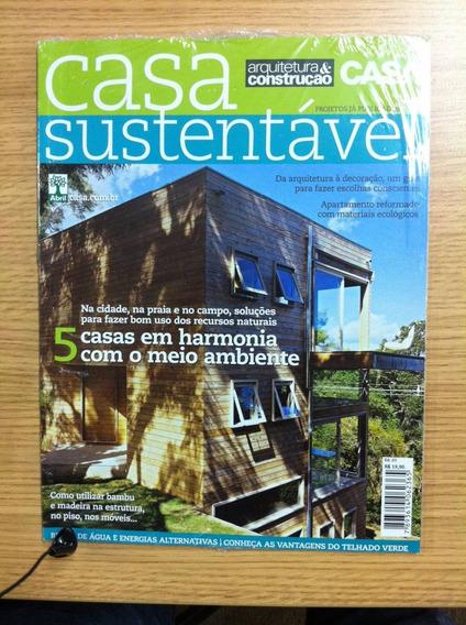 Revista Casa Sustentável Arquitetura Nº 1 - Lacrado