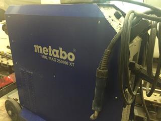 Mig Mag Metabo 250/60 Xt 380w Trifasica Alemana
