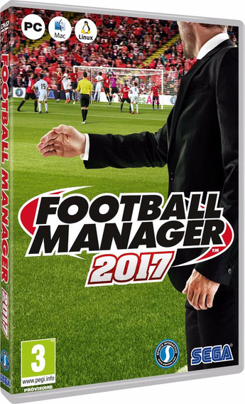 Football Manager 2017 Especial Edition - Pc Dvd - Frete 8 R$