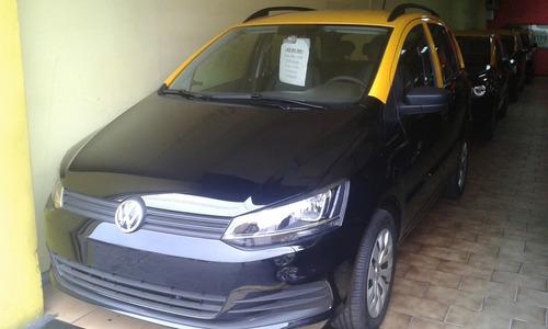 Taxi Vw Suran '15 Gnc Sin Ó Con Licencia -anticipo Y Cuotas-