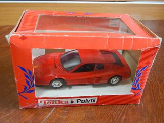 Rara Ferrari Testarossa Tonka Polistil Italiana 1:25
