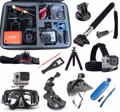 Kit Gopro Hero 4 Hero 5 E Session Pronta Entrega