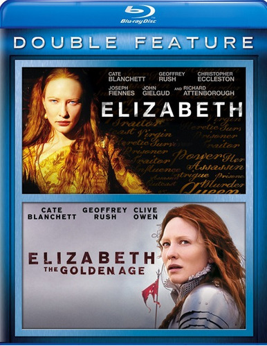Blu-ray Elizabeth + Elizabeth Golden Age / Incluye 2 Films
