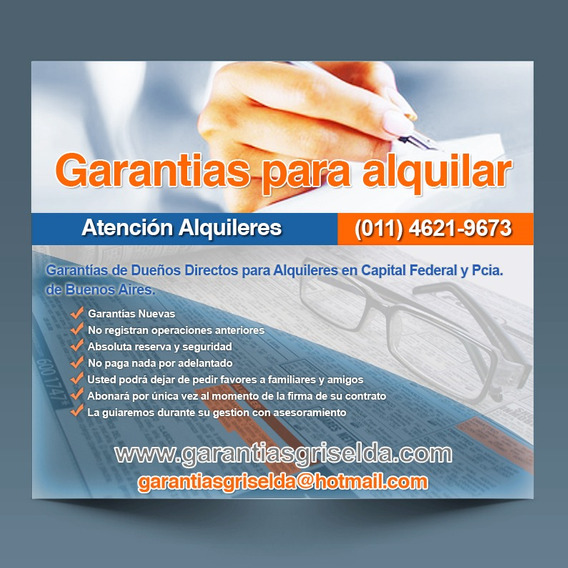 Garantes Para Alquileres En El Gran Bs As What 15 50 26 0220