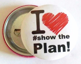 Bottom I Love Show The Plan - Up! Essência