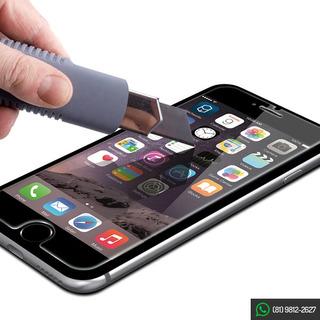 50 Películas Vidro Temperado iPhone 6 Tela 4,7 Atacado