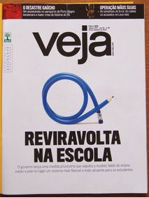 Revista Veja Nº 2497 28/09/2016 Ensino Médio Bicicletas Tv