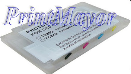 Cartucho Recargable Picturemate T5846 Epson 200 225 260 290