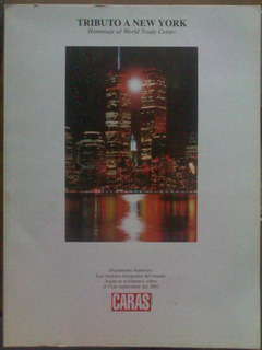 Tributo New York Torres Gemelas World Trade Center Homenaje