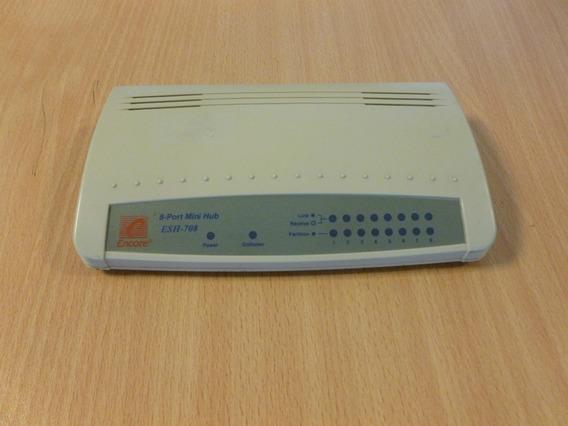 Hub 8 Bocas De 110 V Encore + Teclado Qwerty Ps2 + Mouse Ps2
