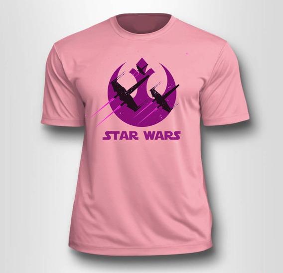 Camiseta Star Wars Rebels - Rosa