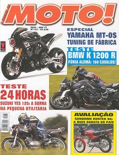 Moto.133 Jan06- Shadow750 Bmwk1200 Buel Xb125s Suzu800 Drag