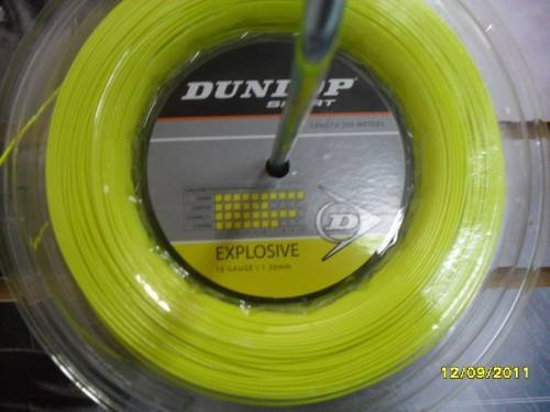 Cuerda De   Tenis : Dunlop Explosive