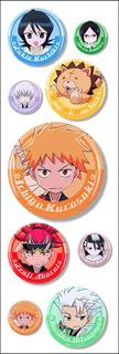 Plancha De Stickers De Anime De Bleach Ichigo Rukia Renji