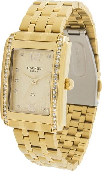 Relógio Backer Feminino Original Barato Lançamento