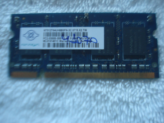 Memoria Ddr2 512mb 5300 Para Notebook