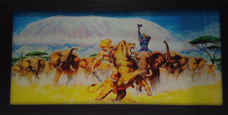 Masters Of The Universe Earl Norem He-man Poster Marco Heman