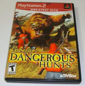 Cabela Dangerous Hunts Original Completo Ps2 Cr $15