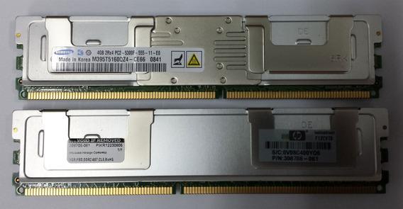 Memoria Server 4gb Ddr2 Pc2 5300 Dl380g5 Hp Ibm Dell