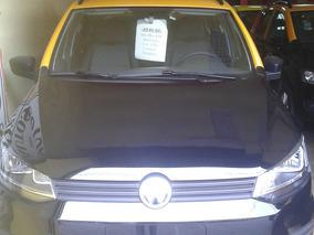 Taxi Vw Suran Okm Con Licencia-pintura Y Reloj-retira Hoy !!