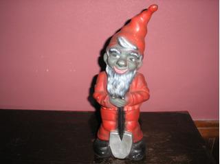 Muñeco Diablo Rojo De Plastiso Años 60 Devoto Toys