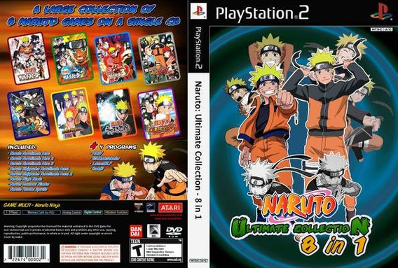 Naruto 8 In 1 Play 2 -
