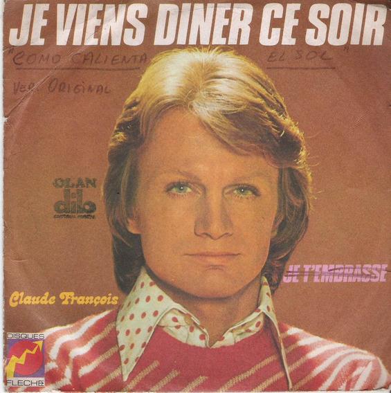 Claude Francois Como Calienta El Sol Simple Con Tapa Francia