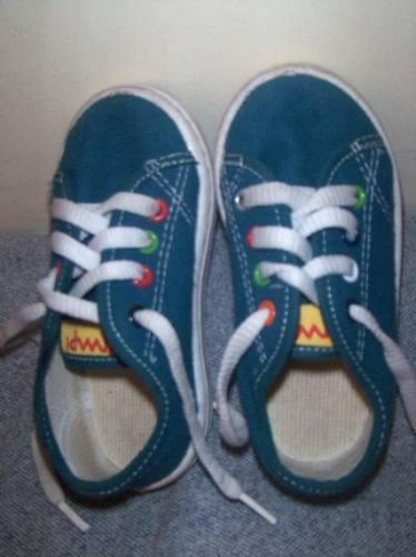 Zapatillas De Lona Import.originales Unisex N° 22, Divinas!