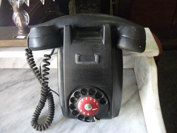 Telefone Antigo Parede Baquelite Antiguidade