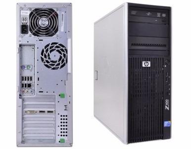 Hp Z400 Intel Xeon W3540 Ssd/sata 8gb Ram Nvidia Quadro 3800
