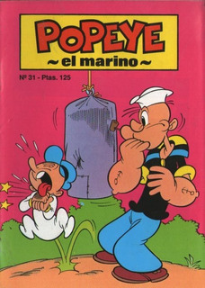 Revista Popeye 31- 1988 Coleccion Baby Comics