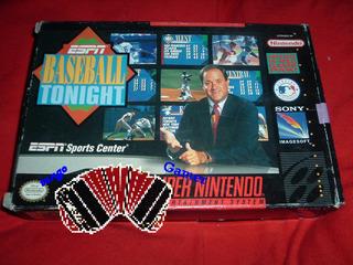 Espn Baseball Tonight / Super Nintendo