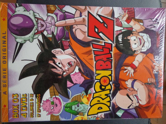 Box Dragon Ball Z Volume 3 Lcr Dragonball 4 Dvds $85 - Lote