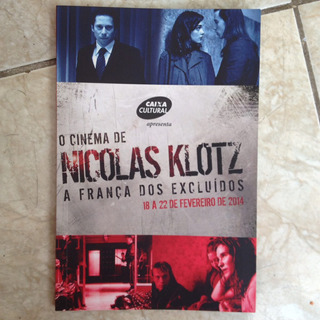 Livro O Cinema De Nicolas Klotz A França Dos Excluídos 2014