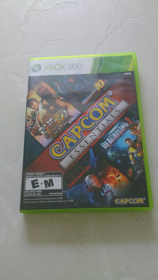 Capcom Essentials Xbox 360 Com Bag Exclusivo Da Capcom