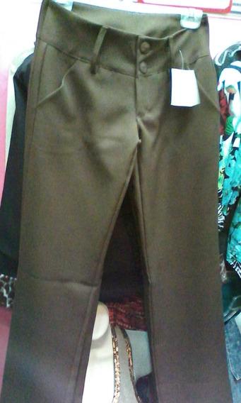 Pantalón De Vestir Para Dama Bota Recta