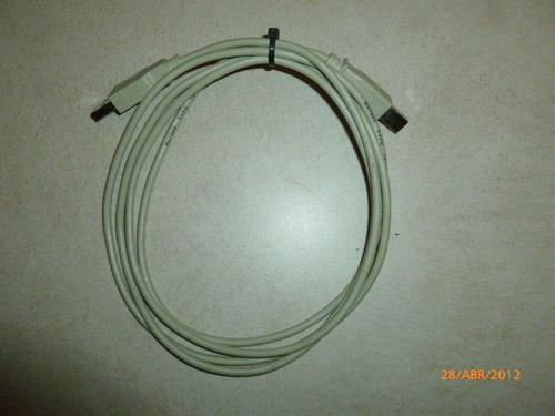 Cable Usb Tipo A/b 1.80mts Impresoras Hp Lexmark Epson Xerox