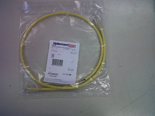 Patch Cord Cat6 0,6m 2pies Hellermann Tyton