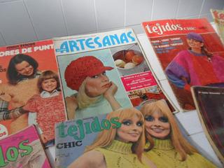 Revistas De Tejidos Artesanales De Coleccion...
