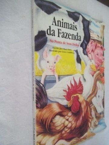 Livro - Animais Da Fazenda - Infanto Juvenil