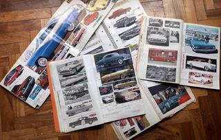 Autos De Colección Antiguos En Libros De Viejas Publicidades