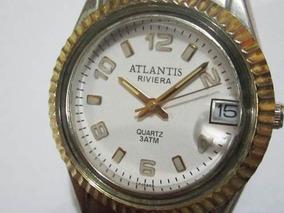Relogio Atlantis Feminino Quartz Muito Lindo