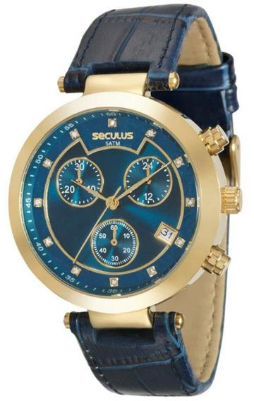 Relógio Seculus Feminino 20377lpsvdr4