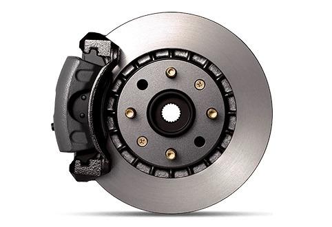 Imagen 1 de 5 de Nissan Tida Frenos De Discos Y Pastillas