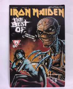 Revista Antiga Best Of Iron Maiden Guitarra Tablaturas N°1