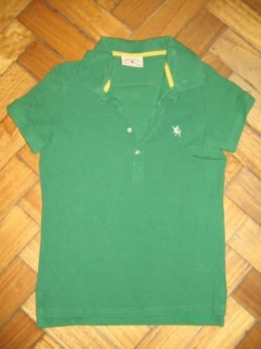 Chomba Remera Soho Verde. Talle Medium. Promo Imperdible!!
