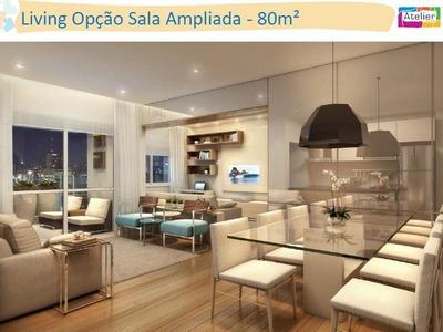 Apartamento A Venda 82 M² Com 02 Vagas No Metro Vila Sônia