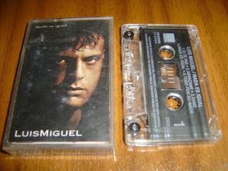 Cassette Luis Miguel / Nada Es Igual