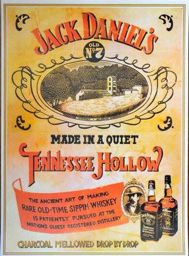 Chapas Decorativas Jack Daniel's 30 X 40 Promo Limitada