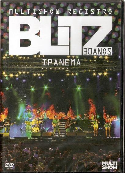 Dvd Blitz - 30 Anos - Ipanema - Multishow Registro - Novo***